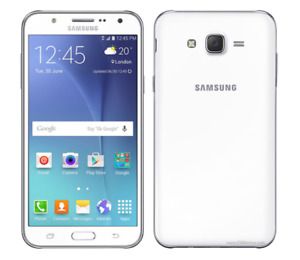 Samsung Galaxy J7 SM-J700T- 16GB 4G LTE White T-Mobile GSM UNLOCKED Smartphone