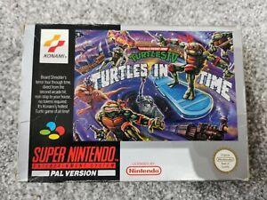 Teenage Mutant Hero Turtles 4 turtles in time NO MANUAL