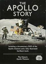 THE APOLLO STORY, THE HISTORIC APOLLO MISSIONS - BOOK & DVD SET