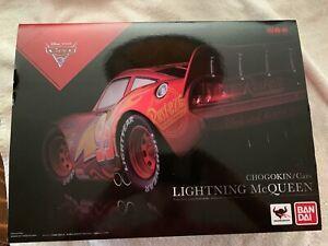 """BAN DAI Chogokin """"Cars 3  LIGHTNING MCQUEEN""""  DIECAST figure NEW!!!!!!"""