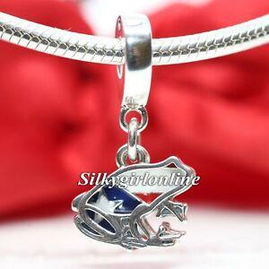 Authentic Pandora Silver Puerto Rico Frog 797222ENMX Charm