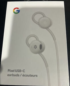 Genuine OEM Google Pixel USB-C Type C Wired Digital Earbud Headset White