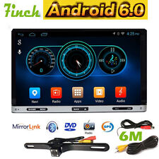 7inch Android 6.0 Double 2 Din InDash Car DVD Radio Stereo Player WiFi 3G GPS BT
