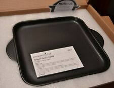 Pampered Chef Rockcrok® Small Square Grill Stone - Oven - Bbq - Stovetop - Grill