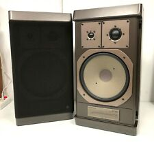 ENCEINTES HIFI / GRUNDIG BOX 1500 / 3 VOIX / TWEETER MEDIUM A DOME + GRAVE 25 CM