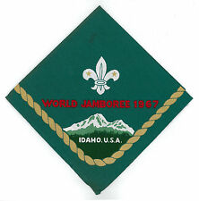 1967 World Scout Jamboree OFFICIAL PARTICIPANTS NECKERCHIEF (N/C) / SCARF
