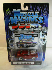 Muscle Machines Die Cast Adult Collectible 1:64 Scale '69 Charger 01-66