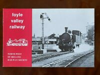Foyle Valley Railway Booklet North West of Ireland Derry Londonderry Trains
