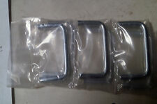 """(6) Chrome Plated Door / Drawer Pulls, 2 3/8"""" x 1 1/8"""""""