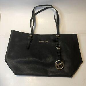 Michael Kors Jet Set Travel Women`s Tote Bag - Black