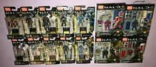 HALO MEGA CONSTRUX SERIES 10 COMPLETE SET OF 10 + 4 POWER PACKS **NEW**