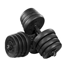 1 Pair 30kg Dumbbell Weight Set Adjustable Solid Fitness Dumbbell Barbell