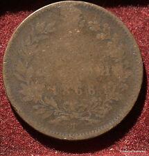10 CENTESIMI 1866 .VITTORIO EMANUELE II ITALIA MA47