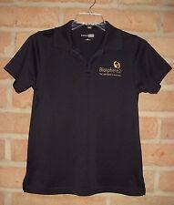 Biosphere 2 ~ University of Arizona Black Polo Shirt ~ Womens Medium