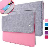 Laptop Bag Sleeve Case Felt Cover For MacBook Air Pro HP Dell Lenovo 11 13 14 15
