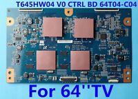 SAMSUNG UN65C8000 LED 3D HDTV T-CON BOARD T645HW04 V0 Ctrl BD 64T04-C04