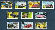 SERIE TIMBRES 3317-3326 NEUF XX LUXE - VOITURES ANCIENNES