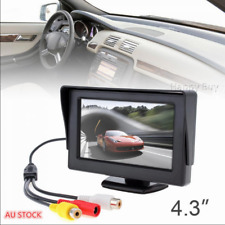 """4.3""""  LCD Screen Car Rear View Reverse Monitor DVD VCR For Backup Camera"""
