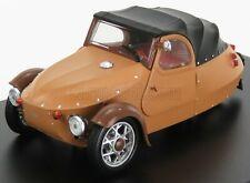 Modellino 143abs-420-01 velorex 16/350 cabriolet closed 1966 light brown black