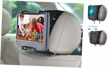 Portable Dvd Player Car Headrest Mount with Angle-Adjustable Clamp, for use