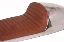 Benelli Mojave Seat Tan Brown Leatherite Aluminium Cafe Racer 260 360 Motorcycle