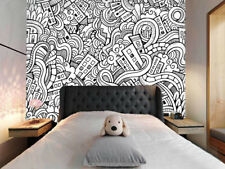 3D Cartoon City 892 Wall Paper Murals Wall Print Wall Wallpaper Mural AU Lemon