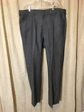 Mens Circle S Western Pants Size 41-31 Gray Polyester