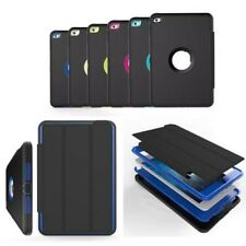 Shockproof FLAP heavy Duty Hard Case Cover Apple iPad Mini 1/2/3/4 Air Pro 9.7