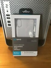 Speck Presidio iPhone Xr Clear Case New and Unopened