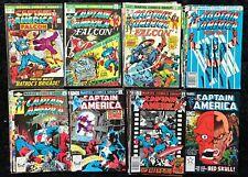 Captain America Vol. 1 #149 - 298 (Lot of 30) Bronze Age Marvel Comics - Falcon