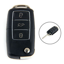 3 Tasten Klappschlüssel Funkschlüssel Gehäuse für VW Volkswagen Golf Polo Hülle