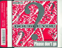 Double You - Please Don´t Go  (199x)  ( CDS - 4 Tracks - Originalausgabe)