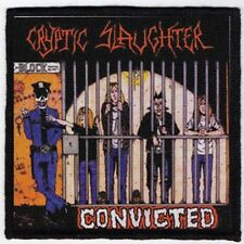 CRYPTIC SLAUGHTER PATCH / SPEED-THRASH-BLACK-DEATH METAL