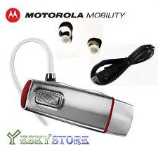 New Motorola Elite Flip Bluetooth Headset HZ720 HD Audio Plus MOTOSPEAK US
