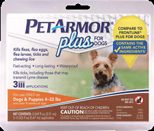 PetArmor Flea & Tick Treatment For Small  Dogs Up to 4 - 22 lbs. lb, 3 Months