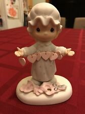 1983 Precious moments  you have touched so many hearts figurine