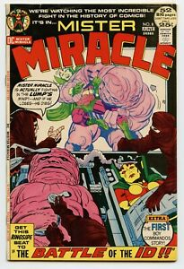 MISTER MIRACLE #8 D.C. - 1971 - 8.0 to 8.5 VF