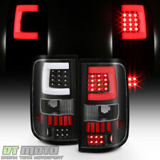 Black 2004 2005 2006 2007 2008 Ford F150 LOBO Pickup LED Tube Tail Lights Lamps