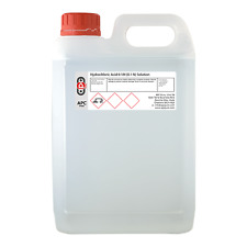 Hydrochloric Acid 0.1M (0.1N) Volumetric Solution 5 Litre (5L)