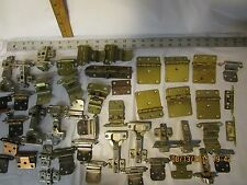 large lot of cabinet door hardware hinges locks etc used in very good condition