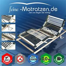 Lattenrost 44 Leisten Motor elektrisch extra stark 2x 4500N Netzfreischaltung