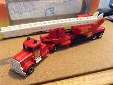1/80 matchbox action convoy 1984 peterbilt fire engine truck done in 1993