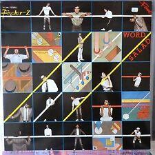 FISCHER Z LP WORD SALAD 1984 EUROPE REISSUE VG++/VG++