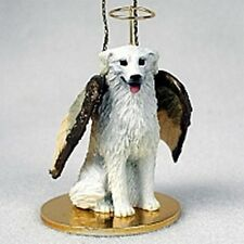 Kuvasz Dog Angel Holiday Ornament Tiny Ones Figurine New