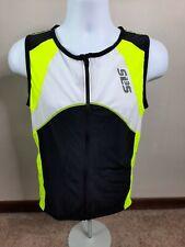 T3S SL3S Triathlon Race Shirt top Skin Speedshirt Cycling  Men's L Full zip NWT