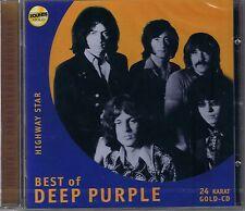 Deep Purple Highway Star 24 Karat Zounds Gold CD NEU OVP Sealed