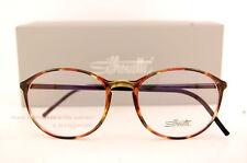 New Silhouette Eyeglass Frames SPX Illusion Fullrim 2889 6061 Havana/Black