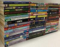 Lot of 10 Children's Scholastic chapter books RANDOM homeschool fiction Pilkey