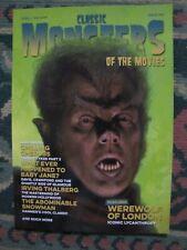 CLASSIC MONSTERS Magazine # 15 (UK)  Werewolf of London & Abominable Snowman NEW