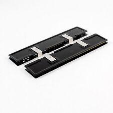 2 x Alluminio Dissipatore Shim Spreader per DDR RAM di memoria HK